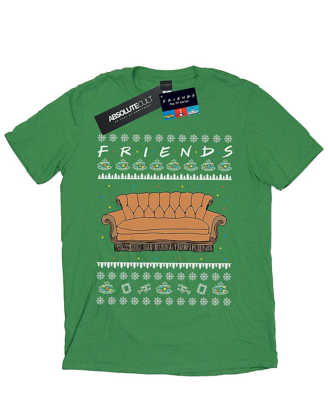 Friends Men's Fair Isle Couch T-Shirt