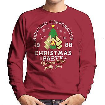 Sweatshirt Die Hard Nakatomi Corp Christmas Party masculine