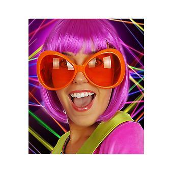 Occhiali occhiali arancione fluo
