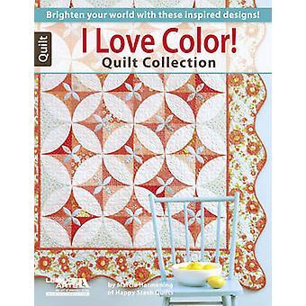 Jag älskar färg! Quilt Collection - lysa upp din värld med dessa Inspir