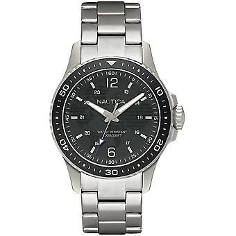 Nautica Watch NAPFRB007 - Plated Stainless Steel Gents Quartz Analogue