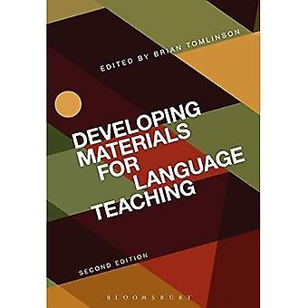Élaboration de matériel d'enseignement des langues