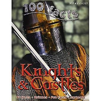 100 faits chevaliers et châteaux