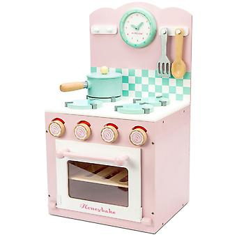 Le Toy Van Honeybake Play Pink Oven & Hob Set