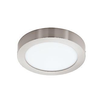 EGLO - Fueva-C Anslut kontrollerade samma vita & RGB yta monterad Panel ljus Satin Nickel EG96678