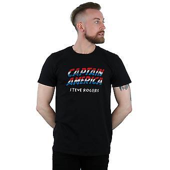 Masculine Marvel Captain America AKA Steve Rogers T-Shirt