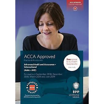 ACCA Advanced audit and assurance (international)-pratique et Revis