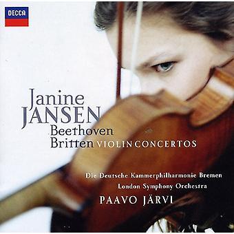 Janine Jansen - Beethoven, Britten: Violin Concertos [CD] USA import