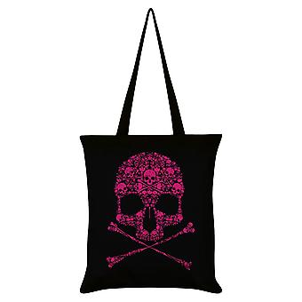 Unorthodox Collective Drip Skull Tote Bag