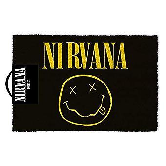 Nirvana Symbol ovimatto 40 x 60 cm-Gaming Merchandise