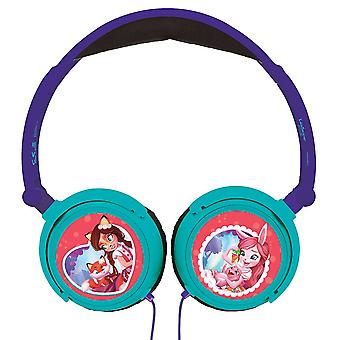 Lexibook Enchantimal Foldable Stereo Headphones with Volume Limiter (HP015EC)