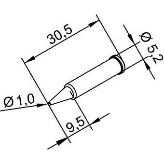 Ersa 102 PD LF 10 Soldering tip Pencil-shaped, ERSADUR Tip size 1 mm Content 1 pc(s)