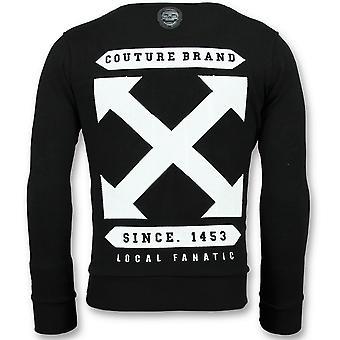 Off Cross - Sweater - 6356Z - Sort