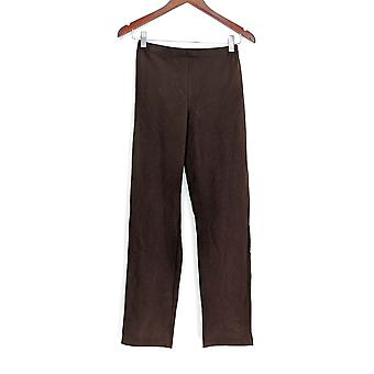 Women with Control Pull-on Slim Leg Pants Brown A213524