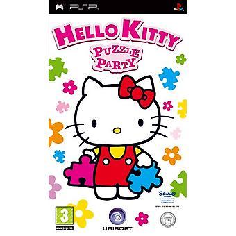 Hello Kitty Puzzle Party (PSP) - Nouveau