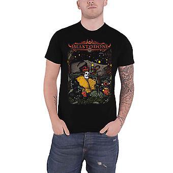 Mastodon T Shirt Seated Sovereign Band Logo new Official Mens Black