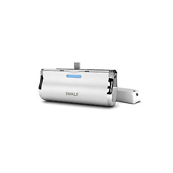 iWALK 2500mAh Battery Dock with LED Indicator for Micro USB Devices - White