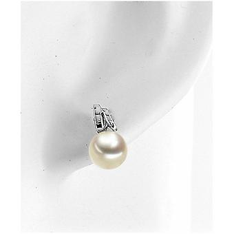 Luna-Pearls - Earrings - Trend - Fantasy - White gold 585 6.5-7 mm