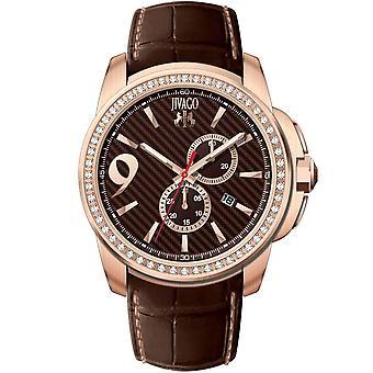 Jivago Men's Gliese Brown Dial Watch - JV1531
