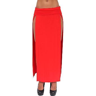 Öppen främre sexig kjol