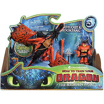How To Train Your Dragon - Viking and Dragon Figure (Assorted, One Supplied)