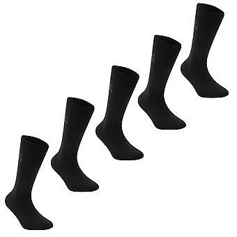 Giorgio Kids 5 Pack Classic Sock Junior
