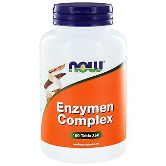 Enzymen Complex (180 tabs) - NOW Foods