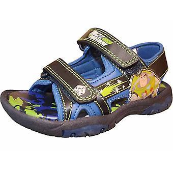 الجوارب Uwear الاطفال لعبة قصة غالاكسي أزياء صندل حذاء Uk4 الأزرق