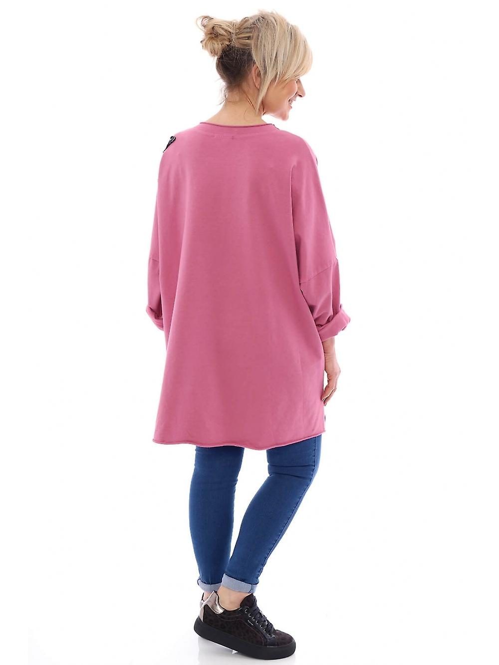 Made In Italy Cosenza Star Cotton Top