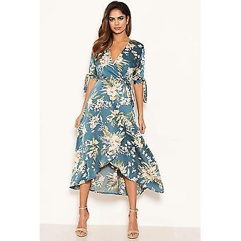 Enchanted Floral Print Dress