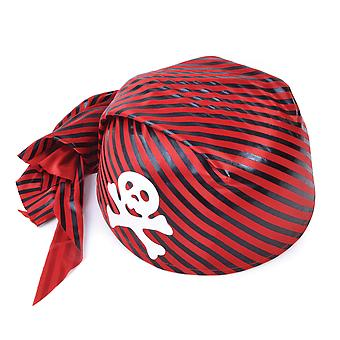 Bristol Novelty Unisex Skull Pirate Handkerchief Hat