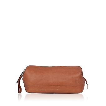 Keswick Cuir Washbag à Tan