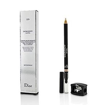 Christian Dior Diorshow Khol Lápiz impermeable con afilador - 529 Beige Khol 1.4g/0.04oz