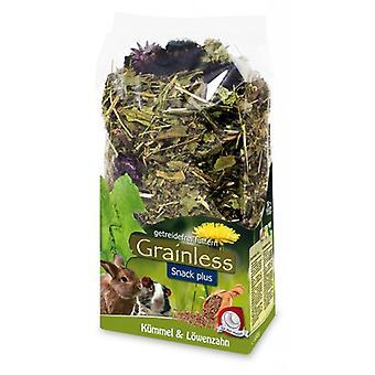 Jr Farm JR grainless plus kummin und Dandelion-mage (små husdjur, godis)