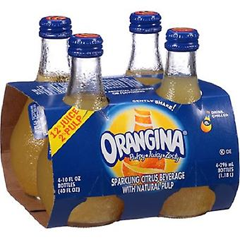 Orangina Sparkling Citrus-( 296 Ml X 4 Bottles )