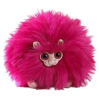 "Puffskeins Mini Pink Pygmy Puff Plush Toy 6"""