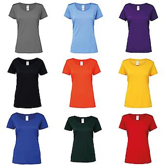 Gildan mujeres/damas rendimiento base de manga corta camiseta