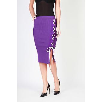 Pinko Original Women All Year Skirt - Violet Kleur 30624