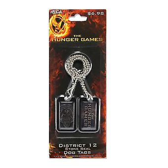 The Hunger Games Dog Tags