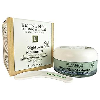 Eminencia brillante piel crema hidratante spf 30 2 oz