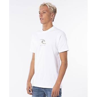Rip Curl Men-apos;s T-Shirt - K-Fish Wave blanc