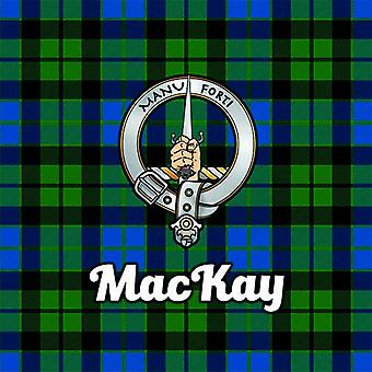 Art2Glass Tartan Clan Coaster - Mackay