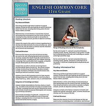 English Common Core 11th Grade Speedy Study Guides by Publishing LLC & Speedy