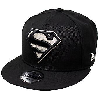 Superman Silver Symbol New Era 9Fifty Adjustable Hat