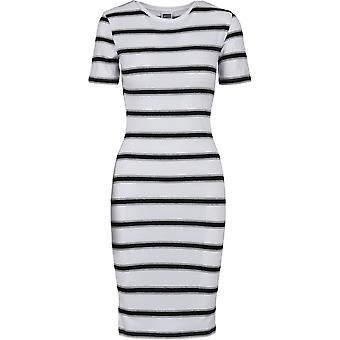 Urban Classics Women's Sweat Dress Stretch Stripe