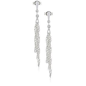SilberDream SDO511 - Women's loin earrings - sterling silver 925