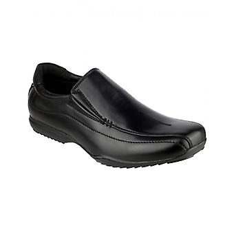 Mirak Clipper Mens Slip On Shoes Black