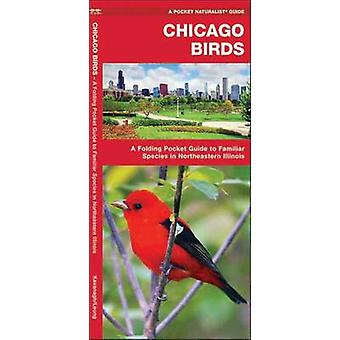 Chicago Birds - A Folding Pocket Guide to Familiar Species in Northeas