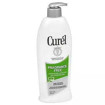 Curel daily lotion for dry skin, fragrance-free, 13 oz