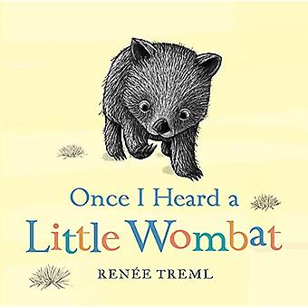 Once I Heard a Little Wombat by Renee Treml - 9781760890544 Book